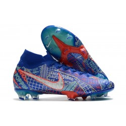 Nike Mercurial Superfly 7 Elite FG Sancho SE11 - Blu Rosso
