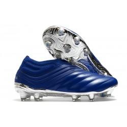 Scarpe da Calcio adidas Copa 20+ FG Blu Team Royal Argento Metallico