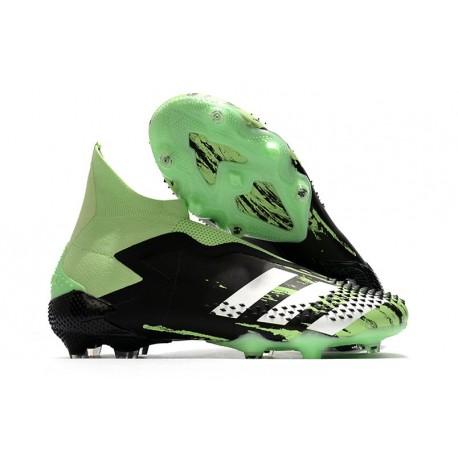 adidas Predator Mutator 20+ FG Nero Verde Bianco