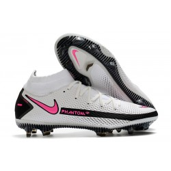 Scarpa Nike Phantom GT Elite Dynamic Fit FG Bianco Rosa Blast Nero