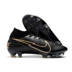 Nike Mercurial Superfly 7 Elite FG Scarpe - Nero Oro