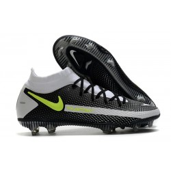 Scarpa Nike Phantom GT Elite Dynamic Fit FG Nero Grigio Verde