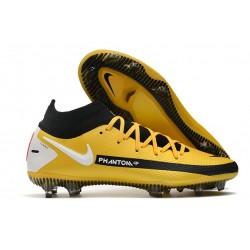 Scarpe da Calcio Nike Phantom GT Elite DF FG Giallo Nero Bianco
