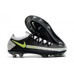 Nike Scarpe da Calcio 2021 Phantom GT Elite FG Nero Grigio