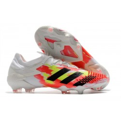adidas Predator Mutator 20.1 Low FG - Bianco Nero Core Pop