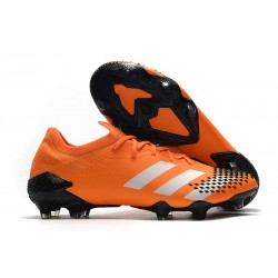 adidas Predator Mutator 20.1 Low FG - Orange Nero
