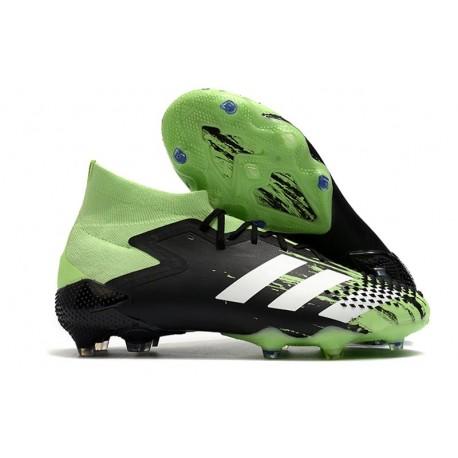 Scarpa adidas Predator Mutator 20.1 FG Uomo Nero Verde Bianco