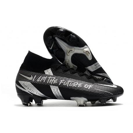 Nike Mercurial Superfly VII Elite DF FG Future Nero Argento