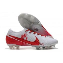 Nike Nuovo Mercurial Vapor 13 Elite FG LFC Bianco Rosso