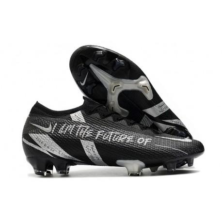 Nike Nuovo Mercurial Vapor 13 Elite FG Future Nero Argento