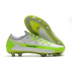 Nike Scarpe da Calcio 2021 Phantom GT Elite FG Bianco Verde