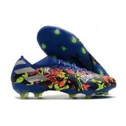 Scarpe adidas Nemeziz 19.1 FG - Blu Team Royal Argento Metallico