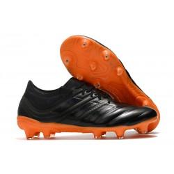 Scarpe da Calcio adidas Copa 19.1 FG - Nero Arancione