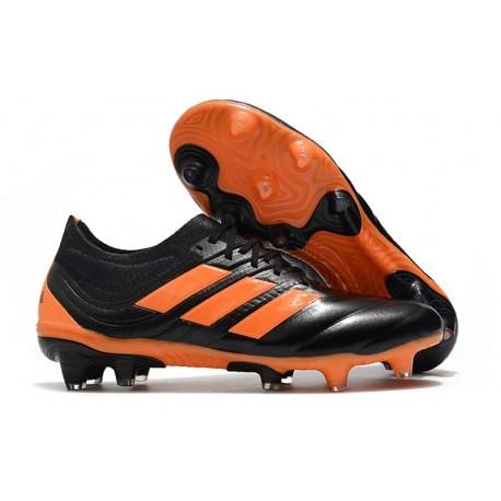 Scarpe da Calcio adidas Copa 19.1 FG - Arancio Nero