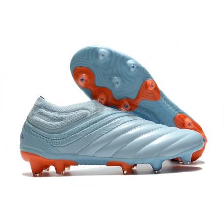 Scarpe Calcio adidas Copa 20+ FG Cielo Blu Team Royal Corallo Signal