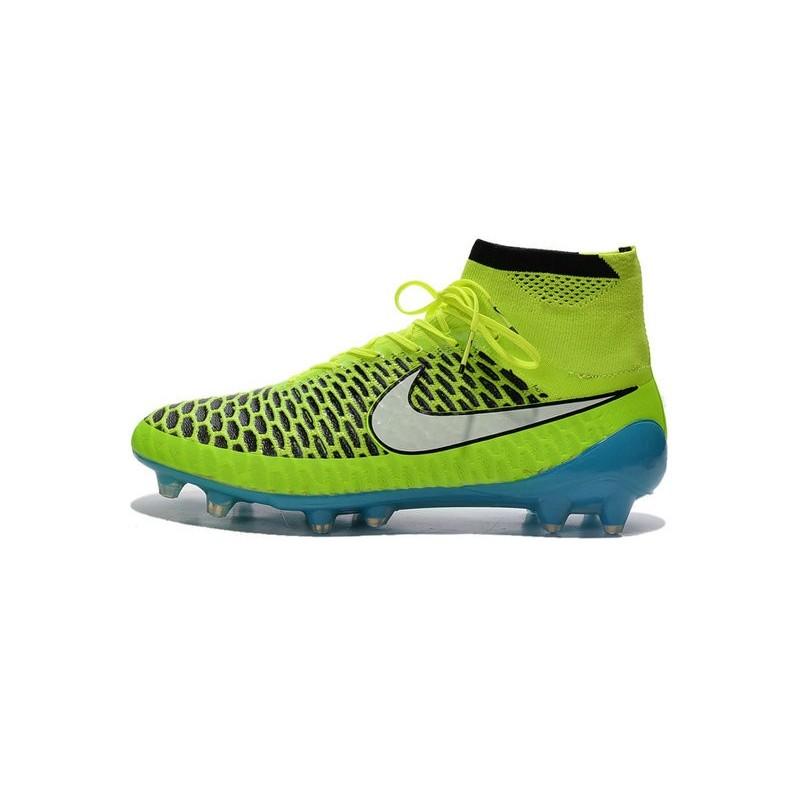 best sneakers bd000 c85f2 2015 Scarpe da Calcio Nike Magista Obra FG ACC Verde Blu Bia