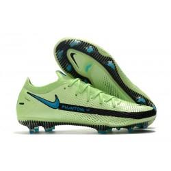 Nike Scarpe da Calcio 2021 Phantom GT Elite FG Verde Blu