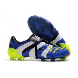 Scarpe da Calcio adidas Predator Accelerator FG - Blu Bianco Giallo