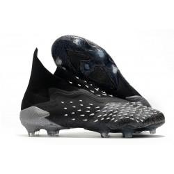 Scarpe adidas Predator Freak+ FG Nero Core Grigio 4 Bianco