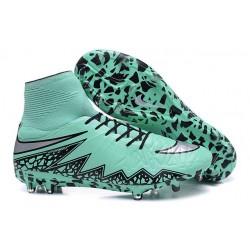 Scarpe da Calcio 2015 Nike Hypervenom Phantom II FG Verde Nero Metallico