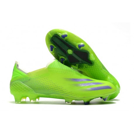 adidas X Ghosted + FG Verde Signal Inchiostro Energy Slime Semi