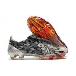 Scarpa da Calcio adidas X Ghosted + FG Nero Bianco Rosso
