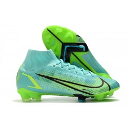 Nike Mercurial Superfly 8 Elite FG Turchese Dinamico Lime Glow