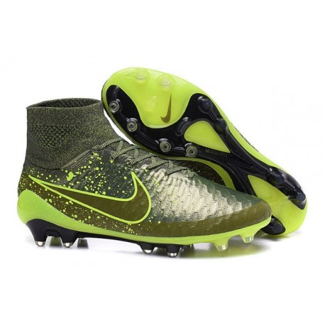 2015 Scarpe da Calcio Nike Magista Obra FG ACC Power Clash Verde
