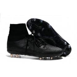 Nike 2015 Scarpette Calcio Hypervenom Phantom 2 FG ACC Rifrangenti Nero