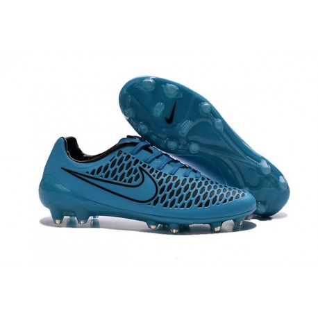 Nike Magista Opus FG Scarpa Calcio da Uomo Blu Nero