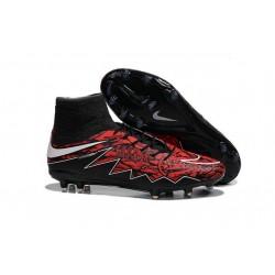 Robert Lewandowski Nike 2016 Scarpette Calcio Hypervenom Phantom 2 FG ACC Rosso Nero