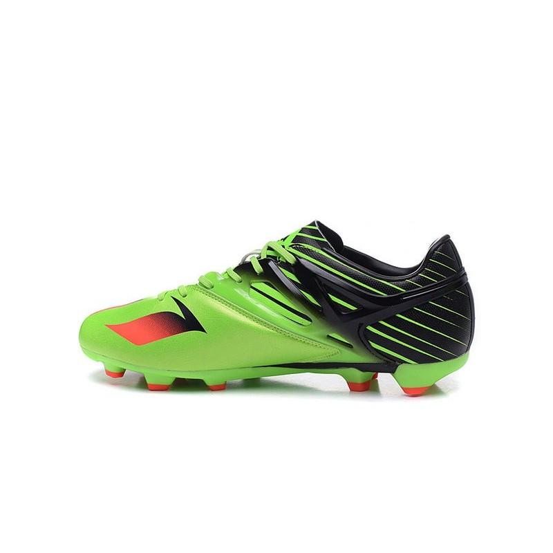 Nuove 2016 Scarpe da Calcio adidas LEO MESSI 15.1 FG Verde