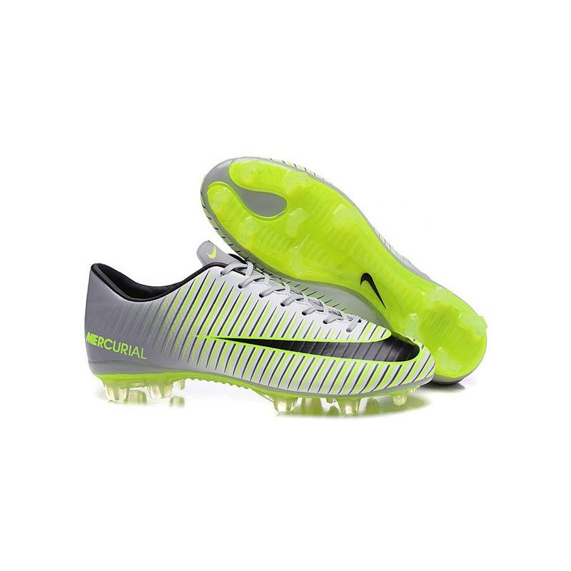 Verde Nuove Nike Xi Nero Metallico Mercurial Vapor Acc Calcio Scarpe Fg EW29YHDI