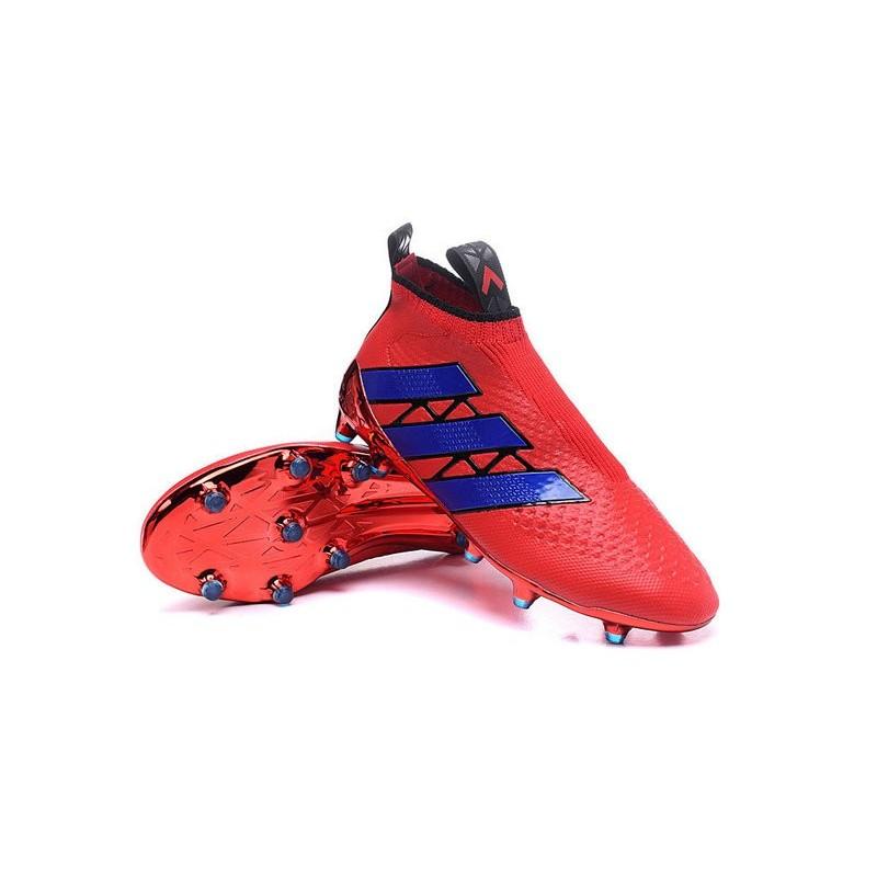 Da Adidas Fgag 2016 Calcio Blu Ace16 Purecontrol Rosso Nuovo Scarpe Ewq8gAx