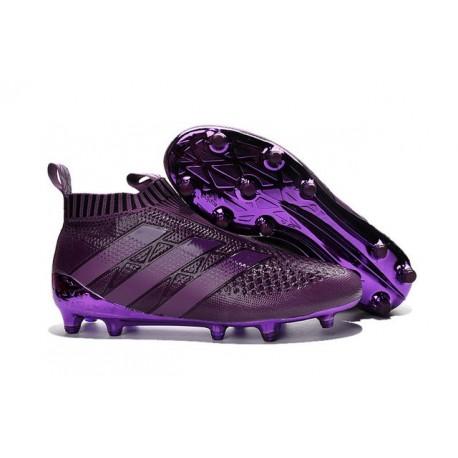 Scarpini da Calcetto Champions League 2016 adidas Ace16+ Purecontrol FG/AG Viola Scuro