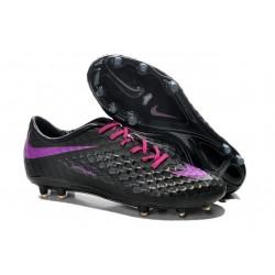 Scarpe Calcio Nike Hypervenom Phantom FG ACC Uomo Nero Viola