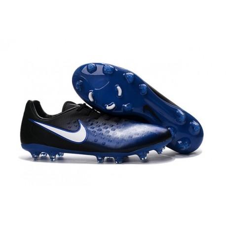 Scarpe da Calcetto Nuovo 2016 Nike Magista Opus II FG ACC Blu Nero Bianco