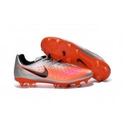 Scarpe da Calcetto Nuovo 2016 Nike Magista Opus II FG ACC Metallico Arancio