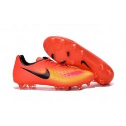 Scarpe da Calcetto Nuovo 2016 Nike Magista Opus II FG ACC Arancio Nero