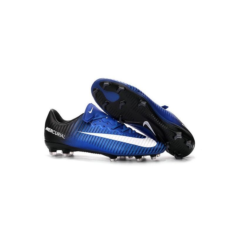 Acc Nero Mercurial Vapor Fg Xi Nuove Nike Blu Scarpe Bianco Calcio IbyY6gvfm7