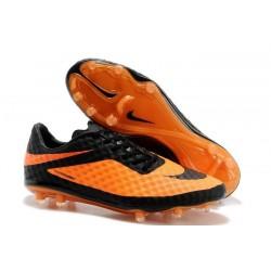 Scarpa Calcio 2014 Nike Hypervenom Phantom FG ACC Uomo Arancio Nero