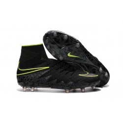 Scarpa da Calcio Nuovo Nike Hypervenom Phantom 2 FG ACC Nero Verde