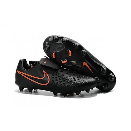 Scarpe da Calcetto Nuovo 2016 Nike Magista Opus II FG ACC Nero Rosso