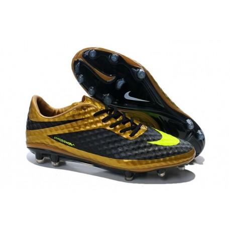 Scarpe Calcio Nike Hypervenom Phantom FG ACC Uomo Nero Volt Oro