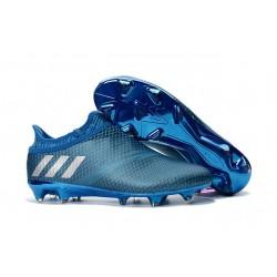 Scarpe da Calcio adidas Messi 16+ Pureagility FG Blu Metallico