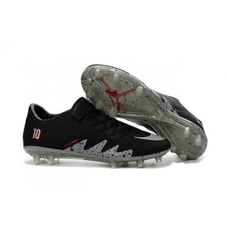 X Jordan Scarpe Neymar Nike Calcio Fg Phinish Hypervenom Metallico Nero mn8vN0w