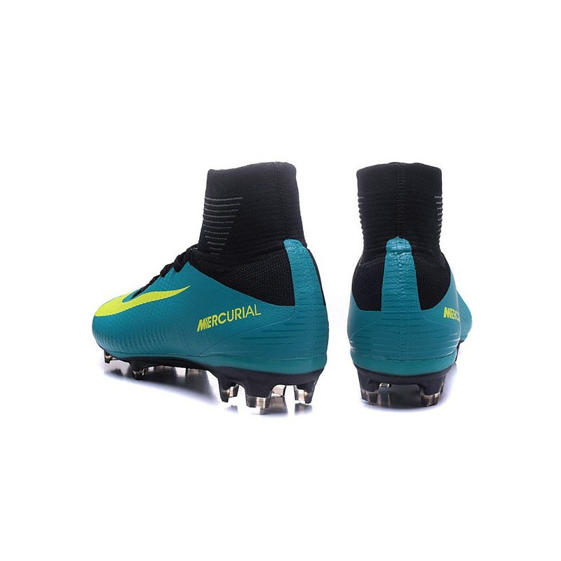 Giallo Fg Mercurial Nuove Calcio Scarpe Blu Nike 5 Superfly SUqzMpV