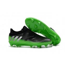 Scarpe da Calcio adidas Messi 16+ Pureagility FG Nero Verde