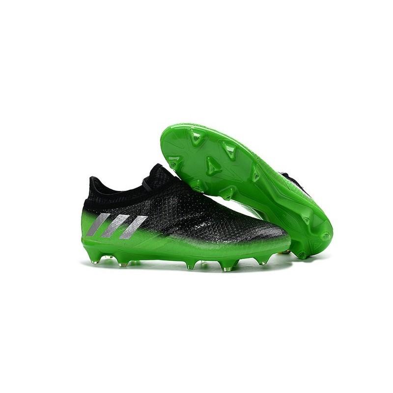 Da Calcio Fg 16 Adidas Nero Verde Scarpe Messi Pureagility fdpqWCR