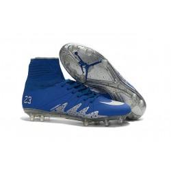 Scarpa da Calcio - Nike Hypervenom Phantom II Neymar x Jordan NJR FG Blu Metallico
